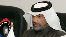 Mohamed bin Hammam war auch Präsident des asiatischen Fußballverbandes.