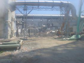 Die Gefahr durch Strahlung ist am AKW Fukushima offenbar groß wie nie.