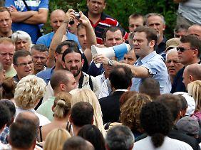 Die Ansprache des serbischen Unterhändlers Stefanovic trägt sicher nicht zur Deeskalation bei.