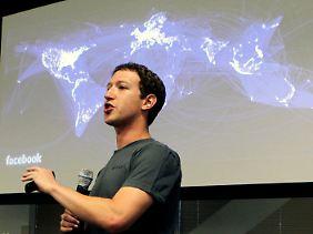 Facebook-Gründer Mark Zuckerberg will keine Nutzer an Google+ verlieren.
