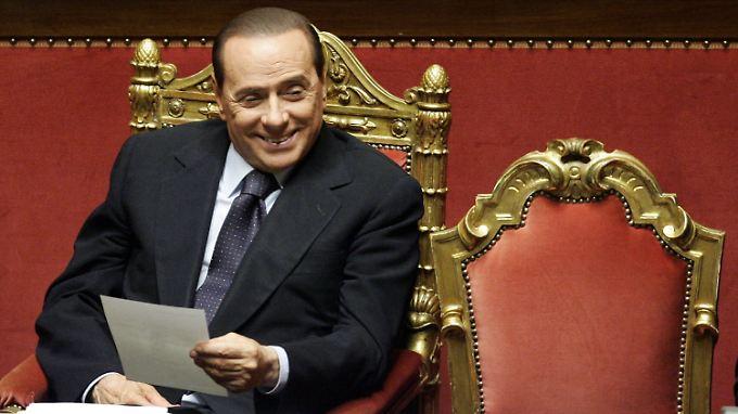 Misstrauen gegenüber Italien ist groß: Berlusconi will Krise herunterspielen