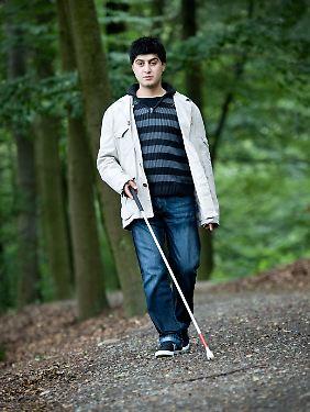 Mustafa Ilhan ist von Geburt an blind.