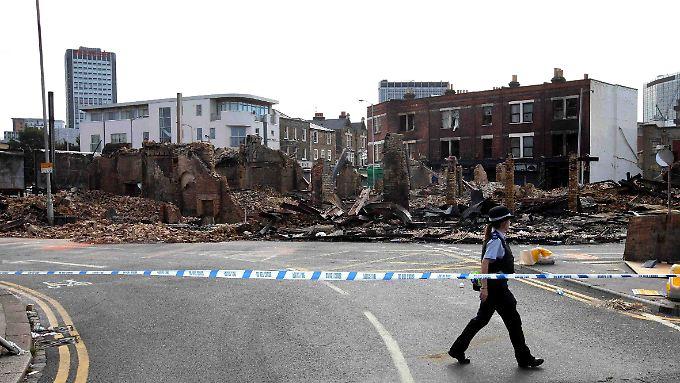 Ruinen im südlichen London.