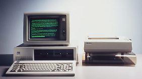 IBM schreibt Geschichte: PC wird 30 Jahre alt