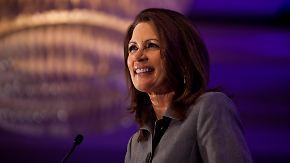 Republikaner fordern Obama heraus: Bachmann gewinnt Testwahl in Iowa