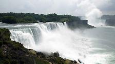"""Auf die Frage: """"Was ist der größte Wasserfall der Welt?"""" würden viele Menschen wohl antworten: """"Die Niagara-Fälle"""". Damit wäre man beim Quiz aber schon ausgeschieden, ..."""