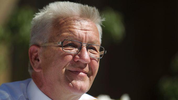 Die Bürger im Südwesten vertrauen Winfried Kretschmann.