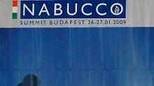"""Langsam aber stetig geht das Projekt """"Nabucco"""" voran."""