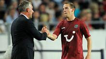 Mann des Spiels: Jan Schlaudraff schoss Hannover gegen den FC Sevilla zum Sieg. Ob das zum Weiterkommen reicht, ist fraglich.