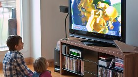 Nur in vier Prozent aller Haushalte steht überhaupt kein Fernseher.