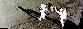 Bilderserie: Der Mensch erreicht den Mond