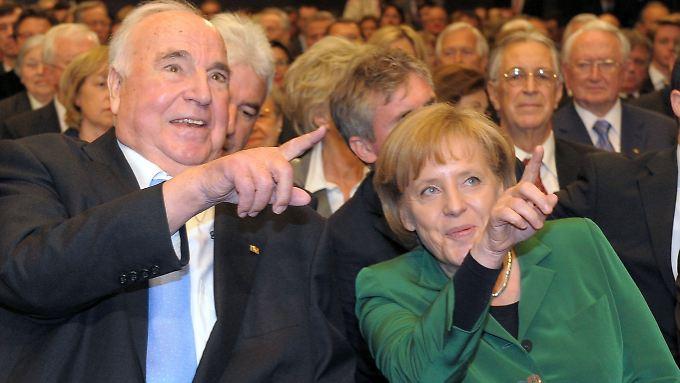 Der Bruch zwischen Kohl und Merkel ist irreparabel.