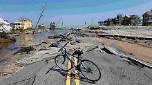 """""""Irene"""" hinterließ an der US-Ostküste, wie hier in North Carolina, eine Spur der Verwüstung."""