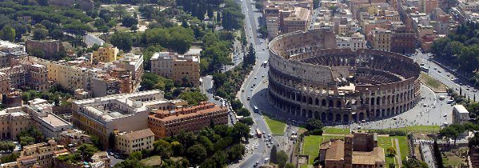 Wurde nicht an einem Tag erbaut: Rom.