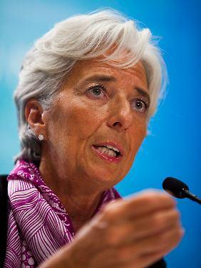 IWF-Chefin Lagarde erntet viel Widerspruch zu ihren Forderungen nach einer besseren Kapitalausstattung europäischer Banken.