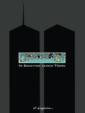"""""""Im Schatten keiner Türme"""" ist bei Atrium erschienen. Die 34 Seiten sind auf Pappe gedruckt und erscheinen im Überformat."""