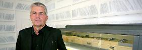 Roland Jahn im Bildungszentrum der Bundesbehörde für die Stasi-Unterlagen in Berlin.
