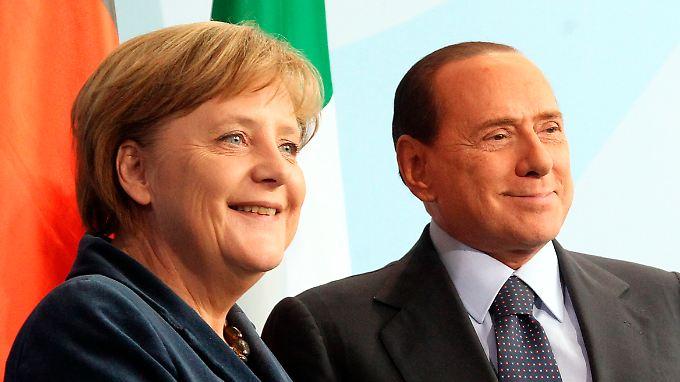 Vulgäre Lästerattacke: Berlusconi beschimpft Merkel