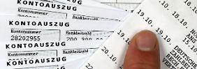 Tauchen auf den Kontoauszügen zu hohe Bankgebühren auf, wird es Zeit für einen Wechsel.