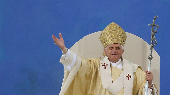 Für ihn ist die Kirche unfehlbar: Papst Benedikt XVI.