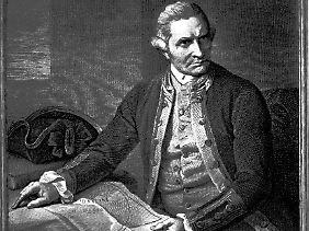 Der Entdecker und dreifache Weltumsegler James Cook (1728-1779) leistete Pionierarbeit für Schiffahrt und Handel - und für die Gesundheit der Seeleute.