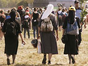 Viele Zehntausende haben an den Messen in Freiburg und Umgebung teilgenommen.
