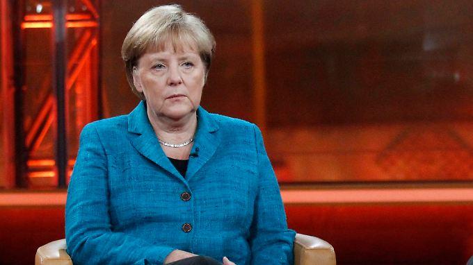 Merkel wirbt bei den Deutschen um Vertrauen für ihre Politik.