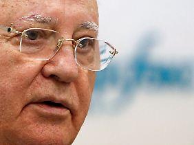 Michail Gorbatschow, ehemaliger Staatschef der Sowjetunion.