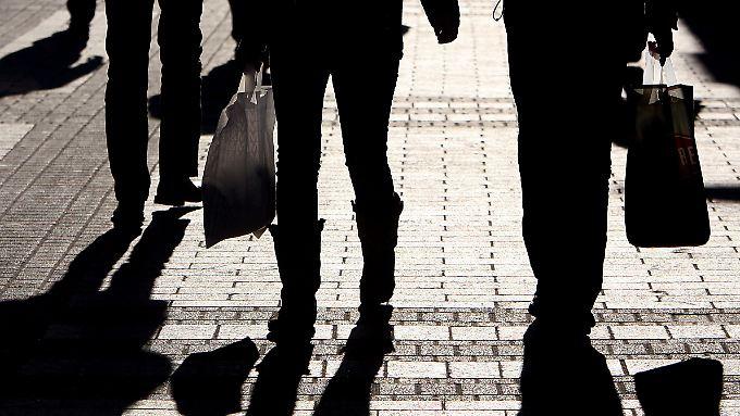 Keine Krisenstimmung: Verbraucher trotzen Rezessionsangst