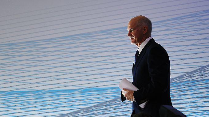 Papandreou wirbt für Griechenland: Deutsche Industrie ist skeptisch
