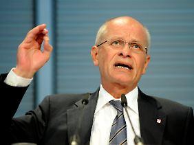Berthold Huber fordert einen Schuldenerlass.