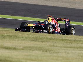 """Der Red Bull darf die """"1"""" auch im Jahr 2012 behalten."""