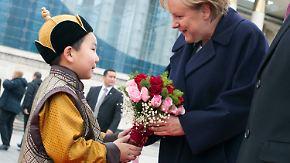 Milliardengeschäft mit der Mongolei: Deutsche Industrie reibt sich die Hände