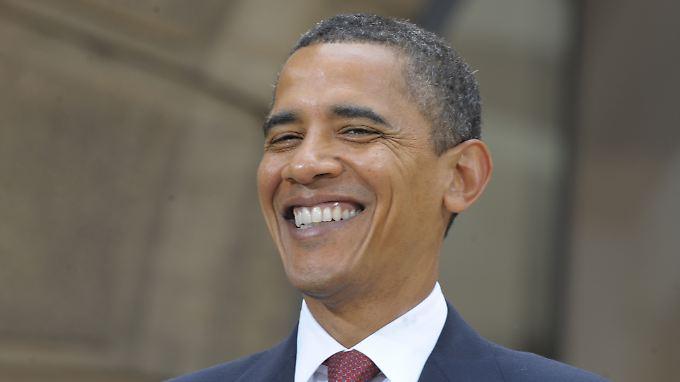 Barack Obama wird's freuen: US-Defizit fällt geringer aus als befürchtet.