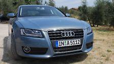 Audi A5 Sportback: Ein schöner Rücken ...