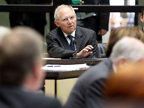 Schäuble versichert immer wieder, dass die deutsche Haftungsobergrenze nicht steigen soll.
