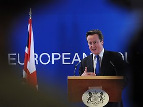 Der britische Premier muss einen Anti-EU-Antrag seiner eigenen Partei abwehren.