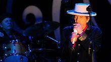 Bob Dylan steht auch mit 70 Jahren noch auf der Bühne.