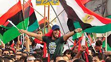 Die Libyer feiern ihre Befreiung.