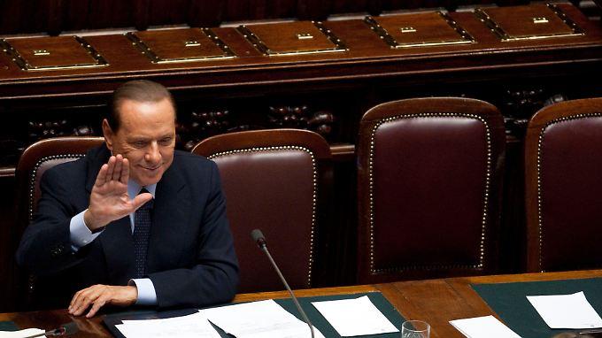 Italiens Premier Silvio Berlusconi.
