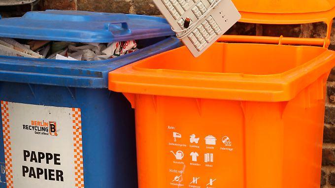 Recycling für alle: Die Werkstofftonne kommt