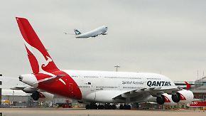 Tausende Passagiere stranden: Qantas sagt weltweit alle Flüge ab