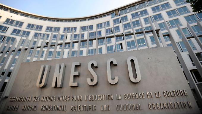 Das Hauptquartier der UNESCO in Paris.