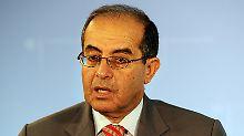 Mahmud Dschibril trat vor der Wahl Al-Kibs zurück.