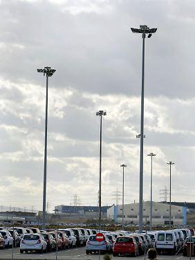 Das Opel-Werk in Saragossa.