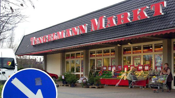 Tengelmann-Supermarkt in Mülheim an der Ruhr.