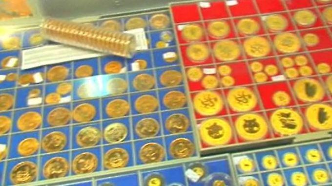 Sorge um das liebe Geld: Anleger flüchten in Gold