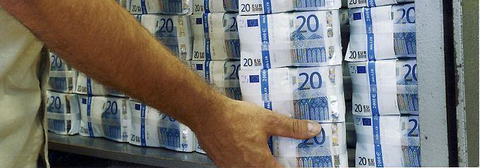 """""""Diese Sonderziehungsrechte sind genau wie die Gold- und Währungsreserven der Bundesrepublik im Einflussbereich der Bundesbank."""""""