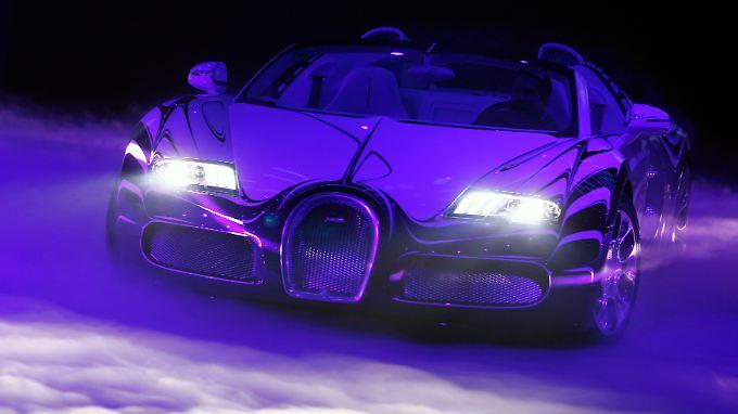 Bugatti Veyron L'Or Blanc: Auch dieser Sipersportler kommt aus dem Volkswagen-Konzern.