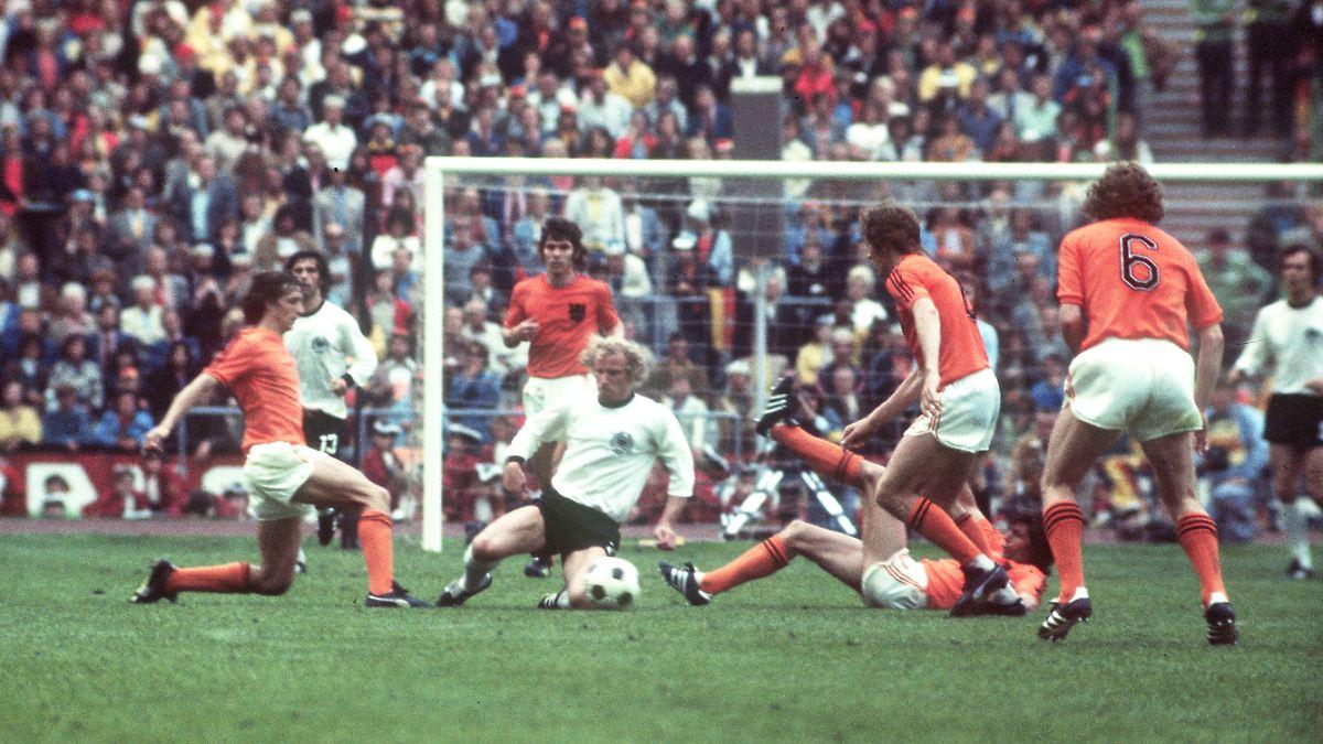 fußballspiel deutschland holland